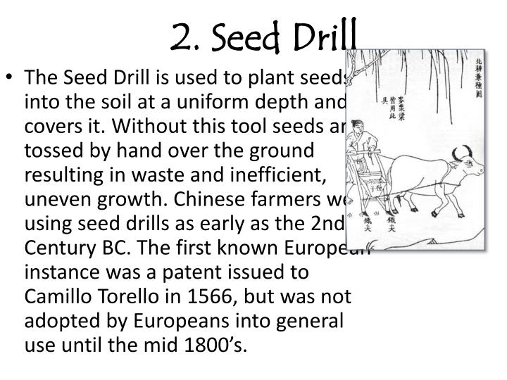 2 seed drill