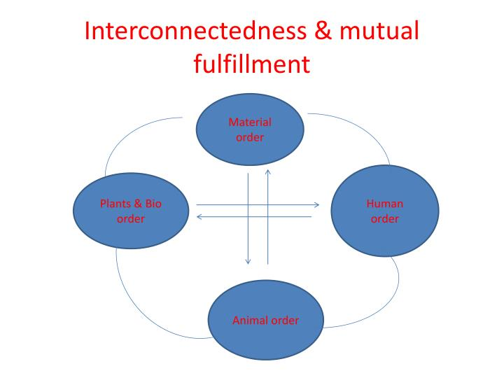 Interconnectedness mutual fulfillment