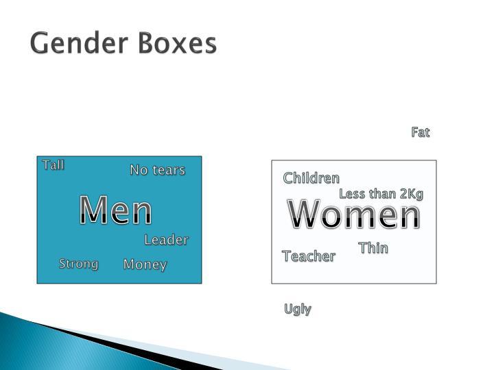 Gender Boxes