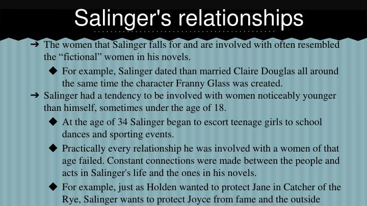 Salinger's relationships