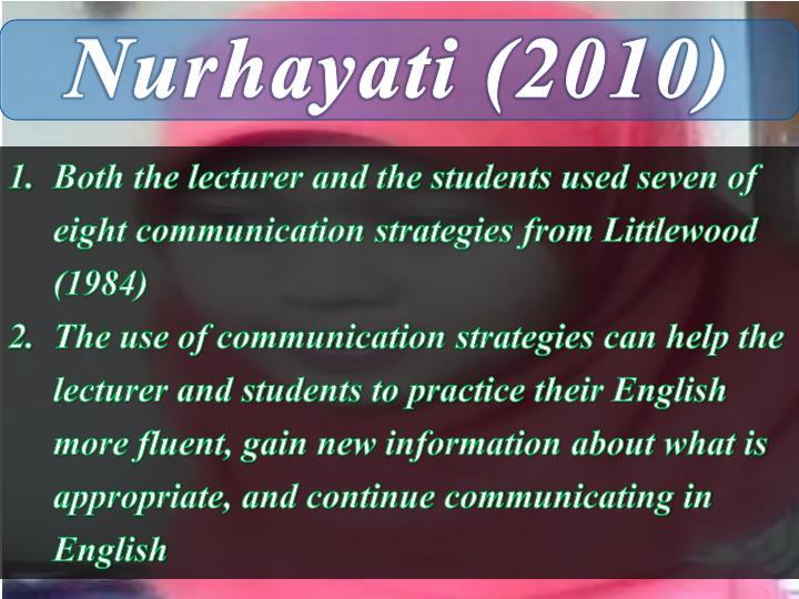 Nurhayati (2010)