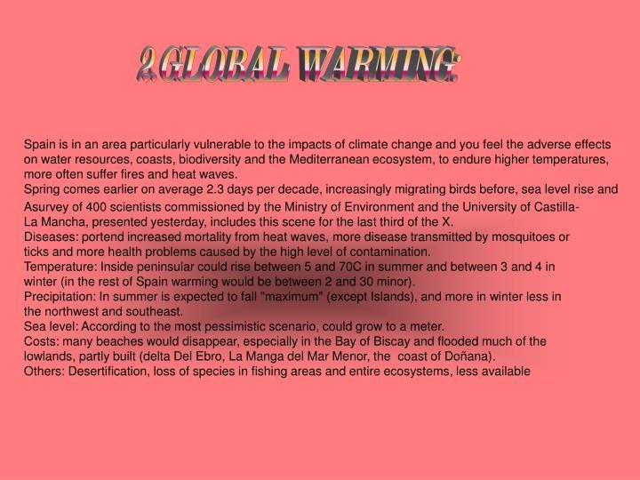 2.GLOBAL WARMING: