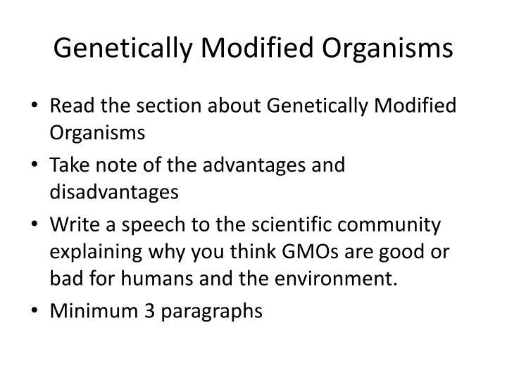 Genetically