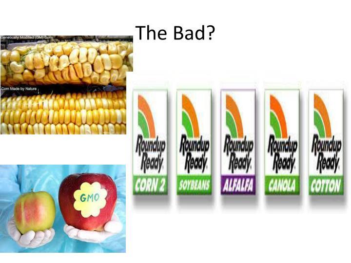 The Bad?