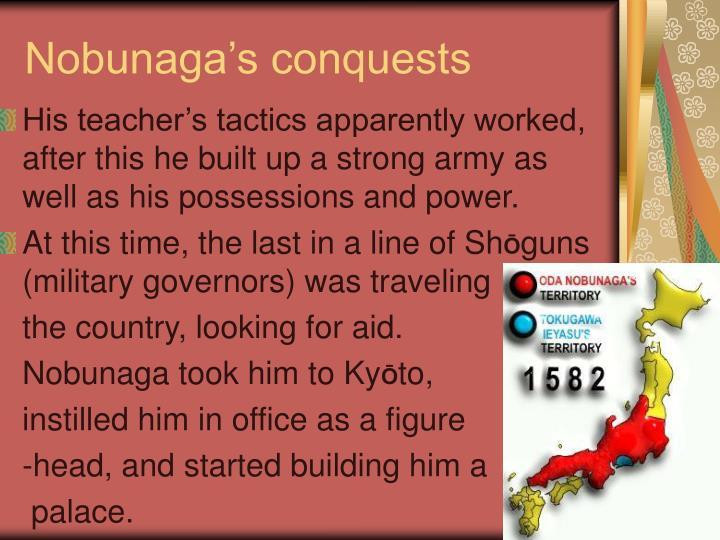 Nobunaga's conquests
