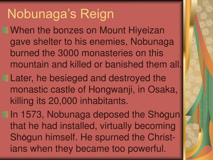 Nobunaga's Reign