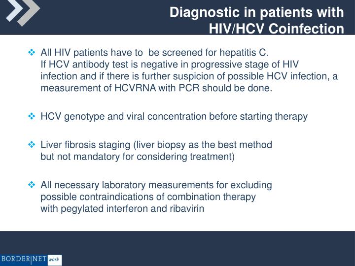 Diagnostic in patients with HIV/HCV Coinfection