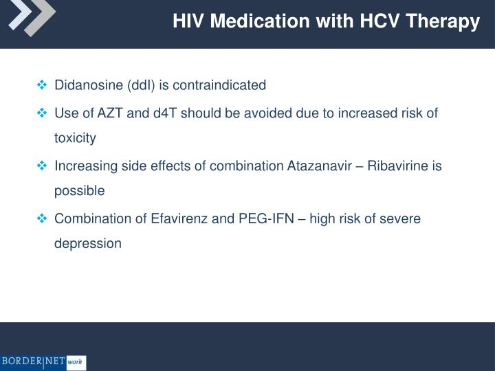 HIV Medication with HCV Therapy
