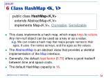 6 class hashmap k v