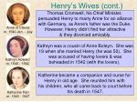 henry s wives cont