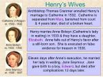 henry s wives