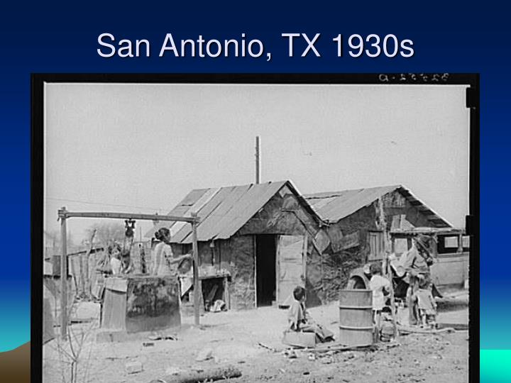 San Antonio, TX 1930s