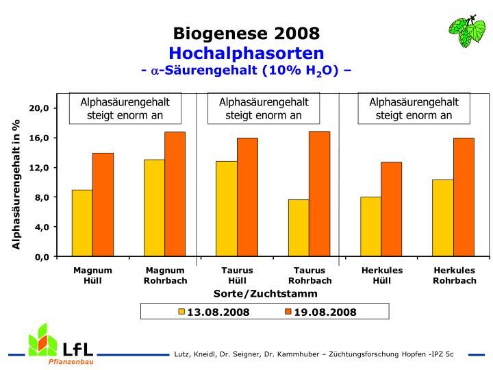 Biogenese 2008