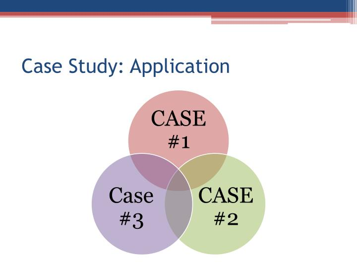 Case Study: Application