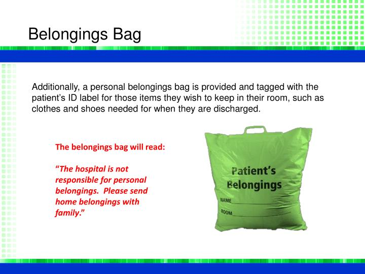 Belongings Bag