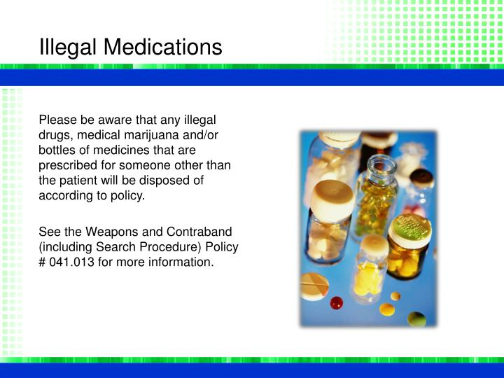 Illegal Medications