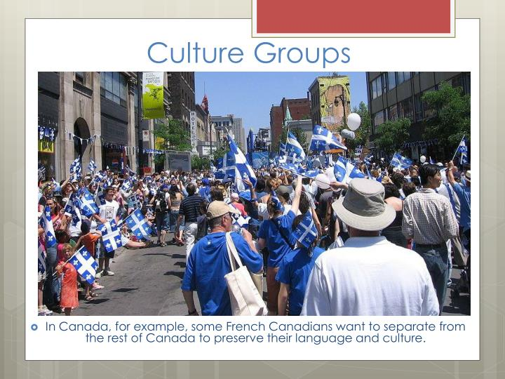 Culture Groups