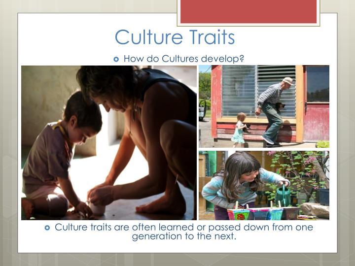 Culture Traits