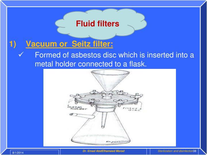 Fluid filters