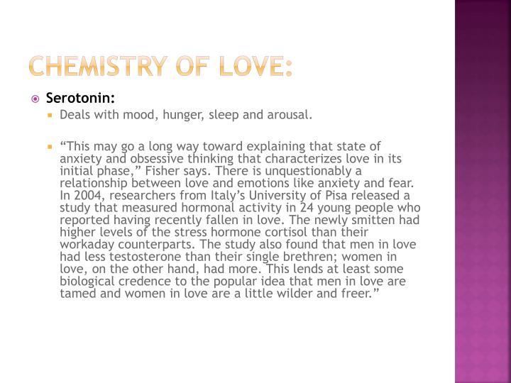 Chemistry of Love: