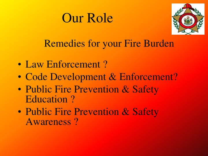 Remedies for your Fire Burden