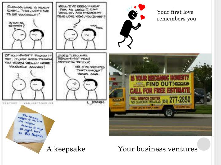 Your Business ventures
