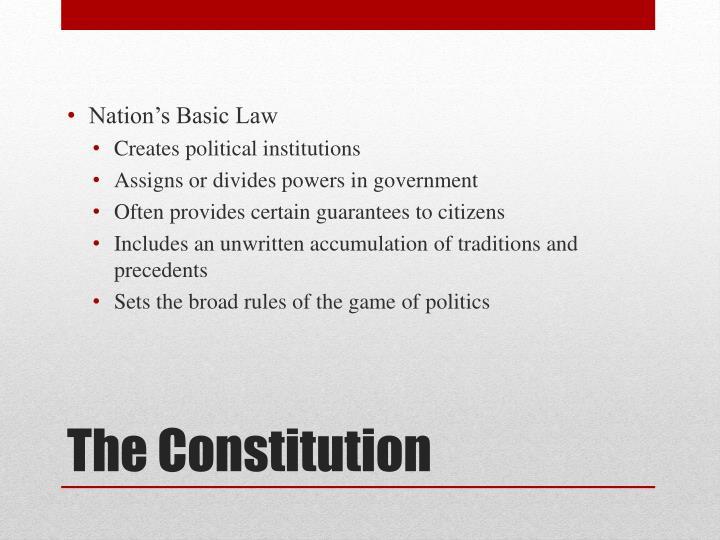 Nation's Basic Law
