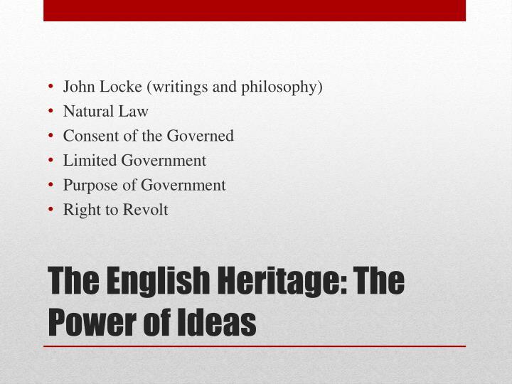 John Locke (writings and philosophy)