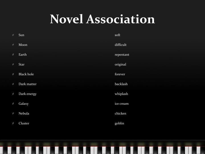 Novel Association