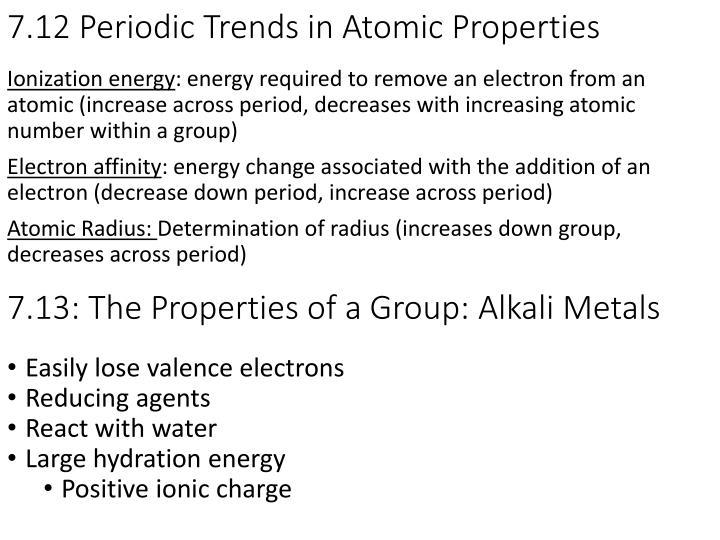 7.12 Periodic