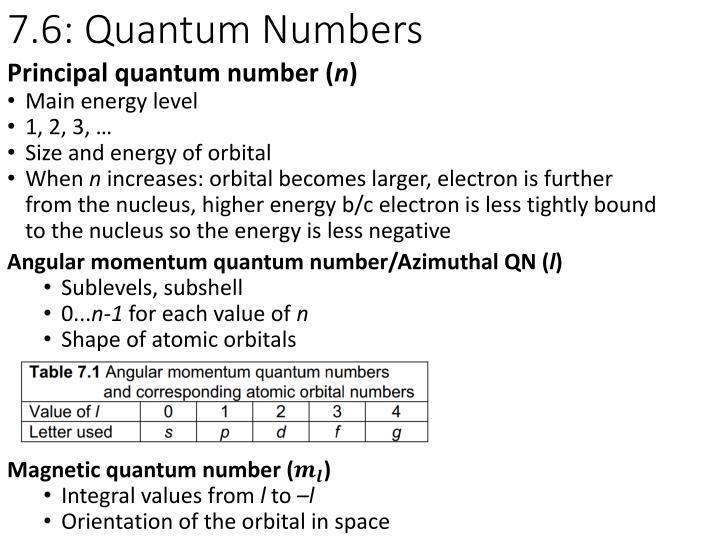 7.6: Quantum