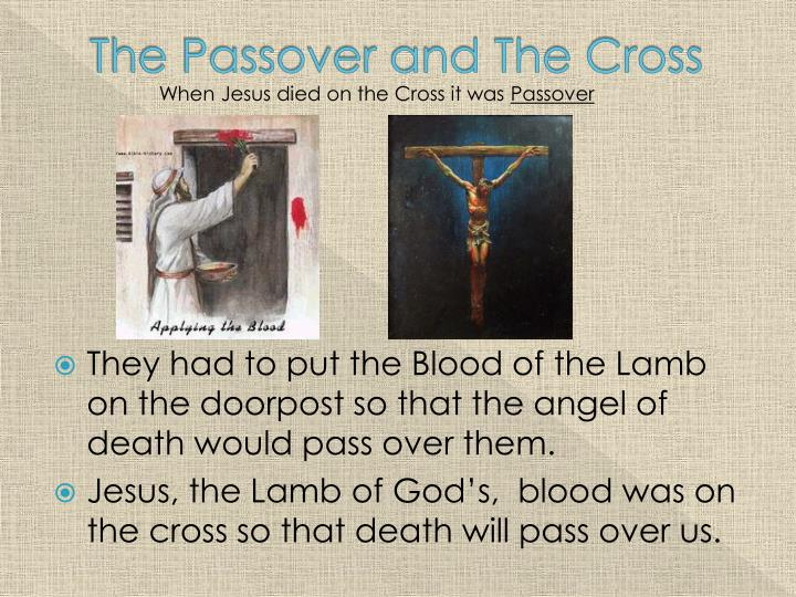 The Passover and The Cross