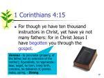 1 corinthians 4 15