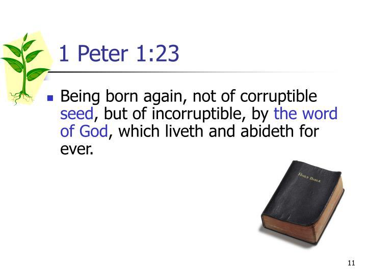 1 Peter 1:23