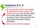 galatians 6 7 81