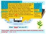 n t churches established in the faith3