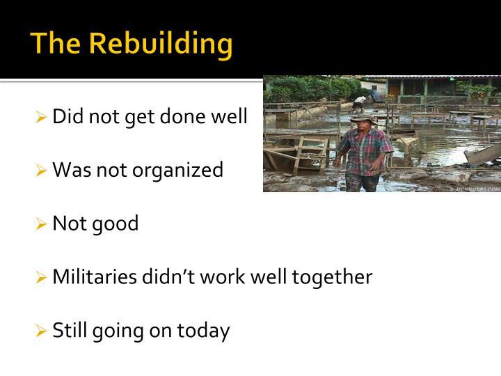 The Rebuilding