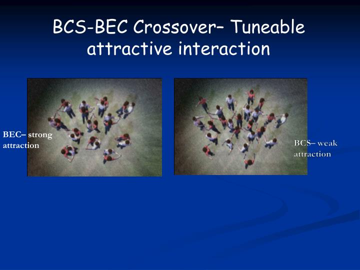BCS-BEC Crossover–