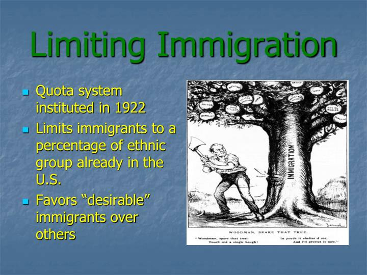 quota system immigration - photo #41