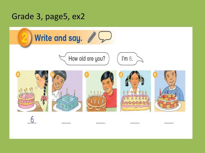 Grade 3, page5, ex2