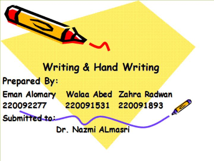 Handwriting analysis what is it