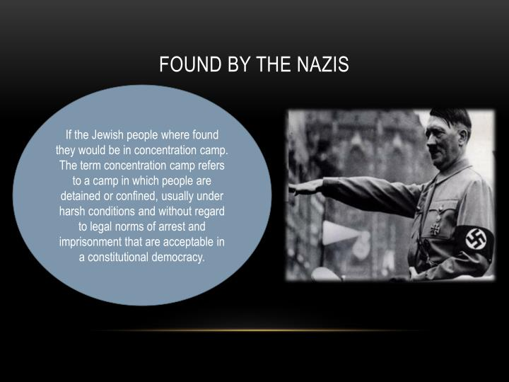 Found by the Nazis