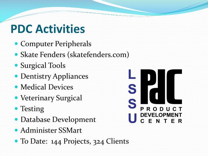 PDC Activities