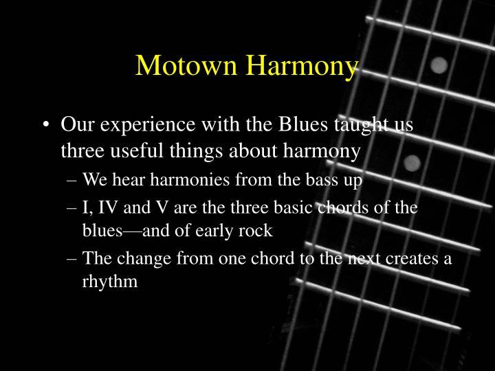 Motown Harmony