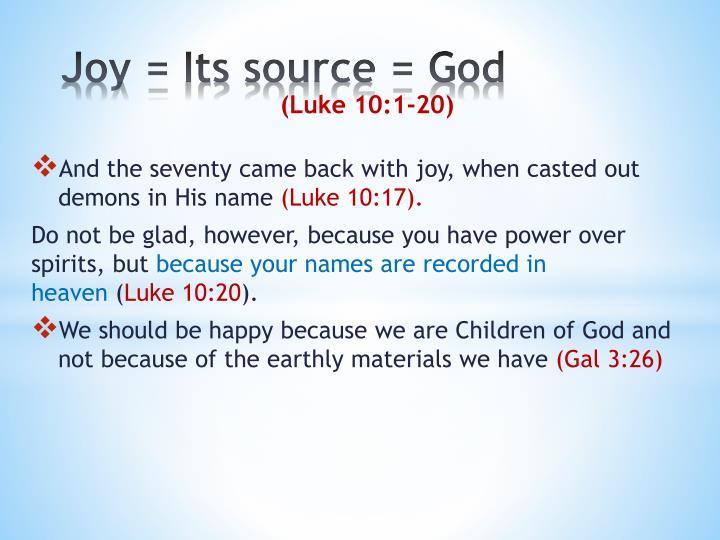 Joy =