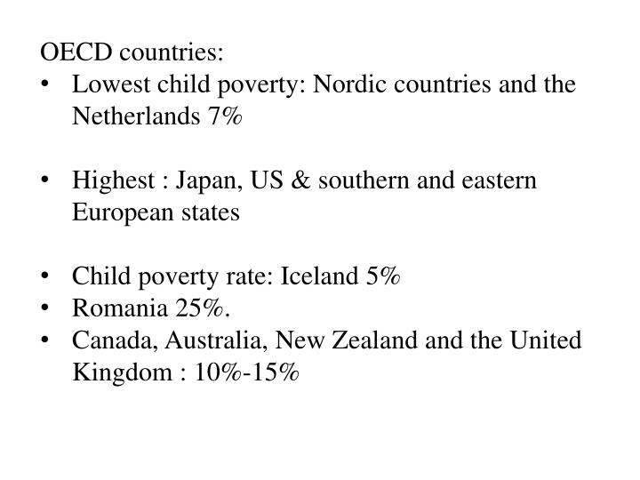OECD countries: