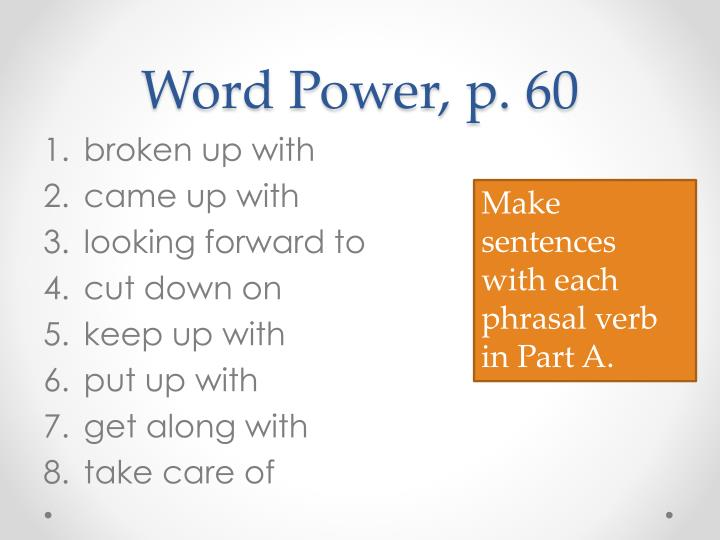 Word Power, p. 60