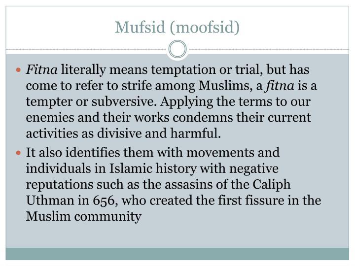 Mufsid (moofsid)