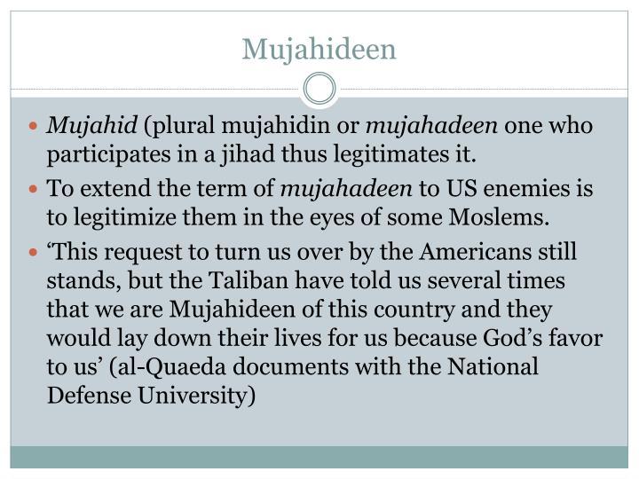 Mujahideen