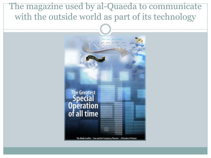 The magazine used by al-